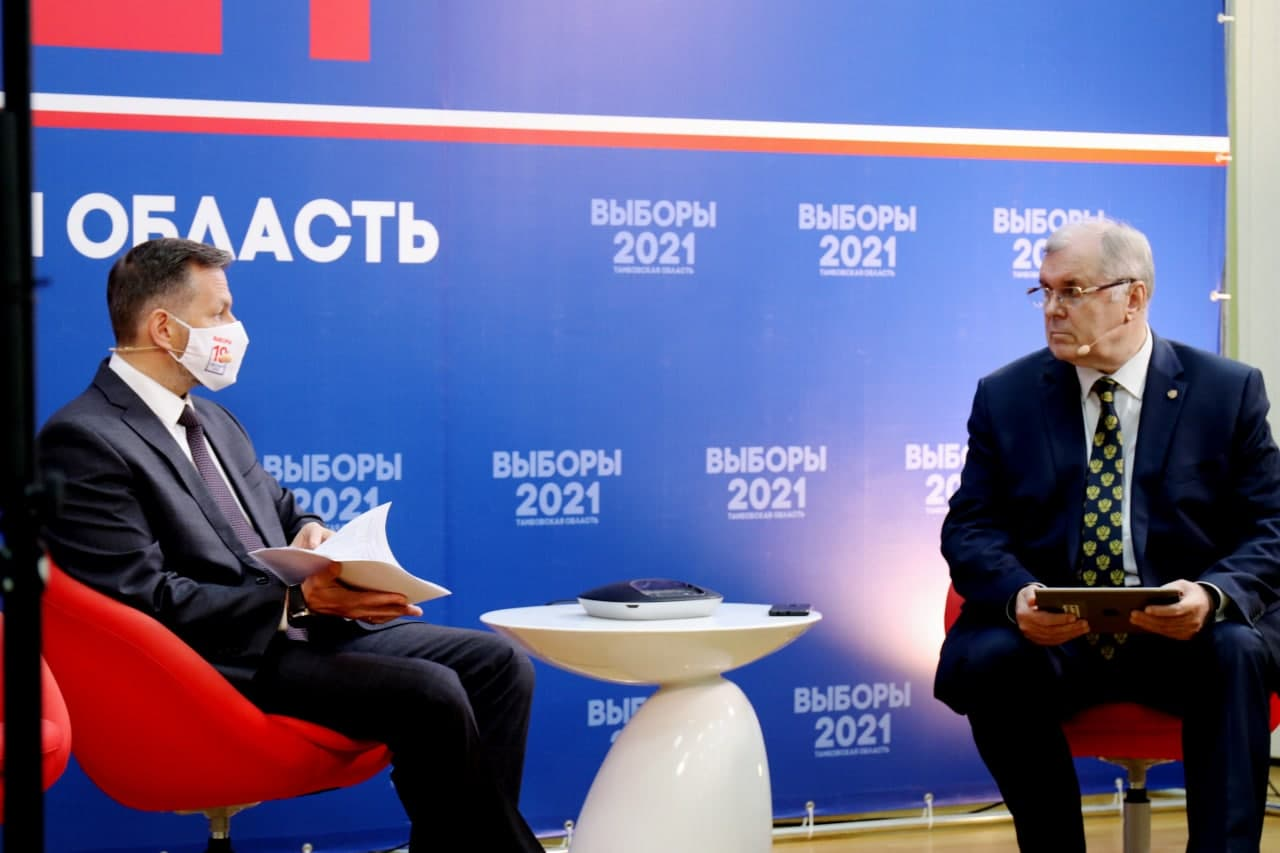 Андрей Анциферов слева и Владимир Пеньков