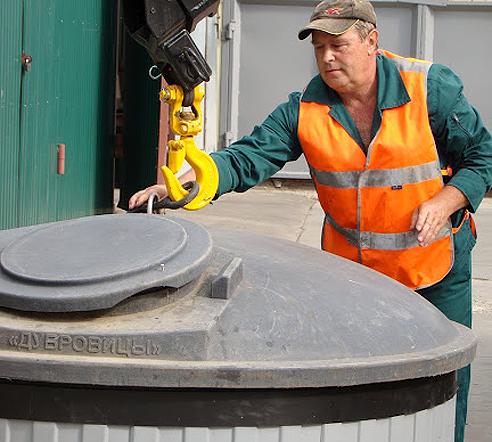 В микрорайоне «Московский» установят суперсовременные мусорные контейнеры