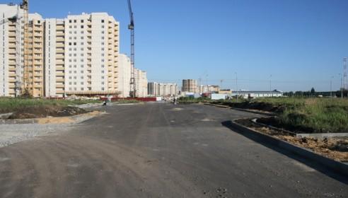 Первая заасфальтированная улица в микрорайоне Уютный, Тамбов