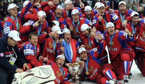 Чемпионский кубок по хоккею - 2012 придет в Тамбов. Фото ria.ru