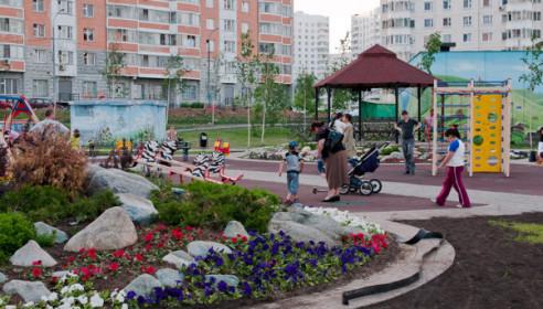 Пример оформление стен в мкр Южное Бутово (Москва)