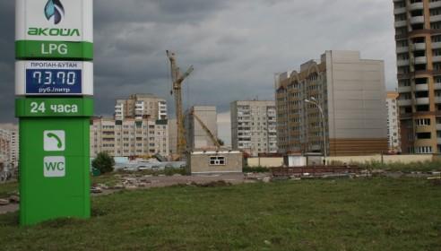 Строительство сквера на углу Мичуринской и Чичерина
