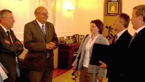 Французская делегация из департамента Мозель