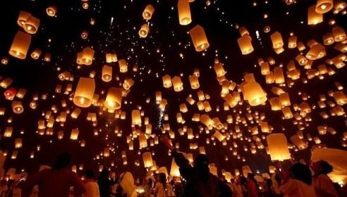 В Тамбове запустят в небо фонарики желаний