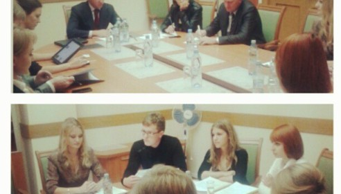 Министр Ливанов встретился со студентами ТГТУ. Фото twitter.com/minobrnauki_ru/