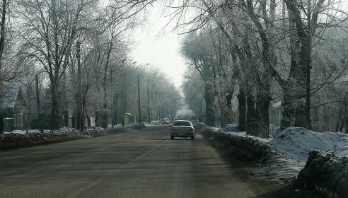 Улица Карла Маркса в Тамбове