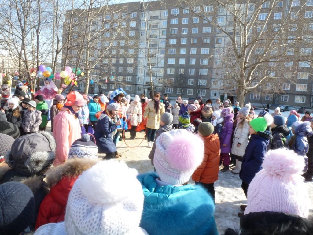 Масленица в школе №36