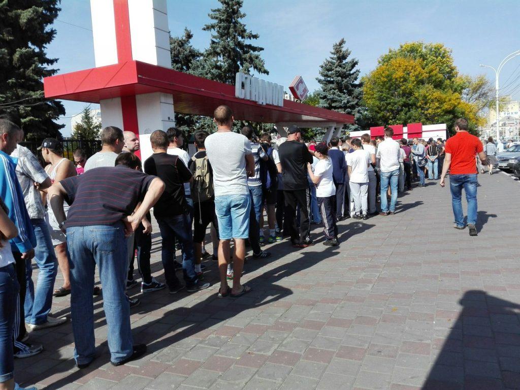 Билеты, поступившую в свободную продажу, вызвали множество вопросов и закончились очень быстро