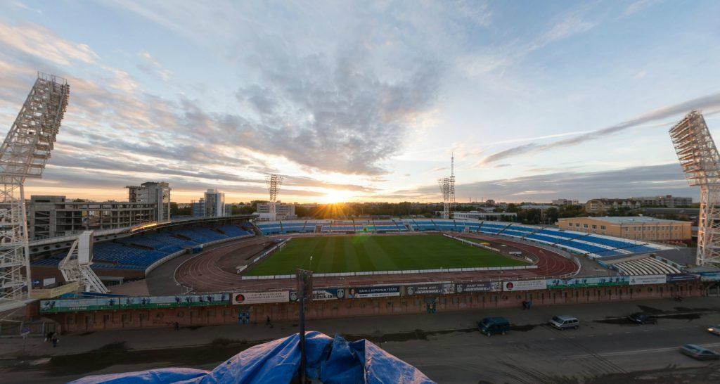 """Ярославль, стадион """"Шинник"""". Именно тут пройдет матч 8-го тура ФНЛ между """"Шинником"""" и """"Тамбовом"""""""