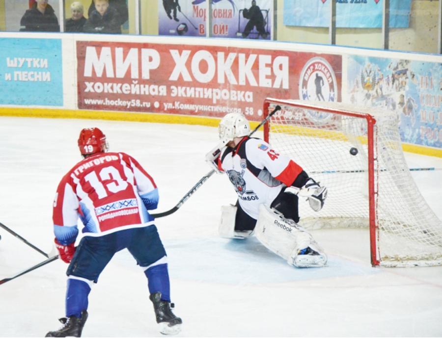 Николай Григоров - один из героев второго матча. На его счету хет-трик