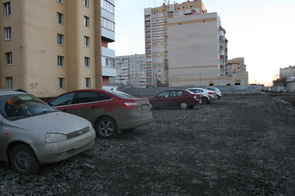 Парковка на Чичерина, 30в