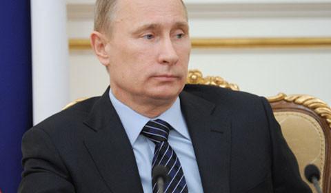 Рейтинг Путина за 10 лет упал на 20%. Фото РИА Новости