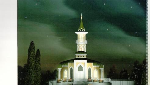 Проект мечети в Тамбове