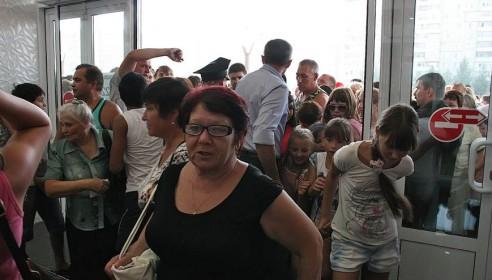 "Открытие ТРЦ ""Европа"" в Тамбове"