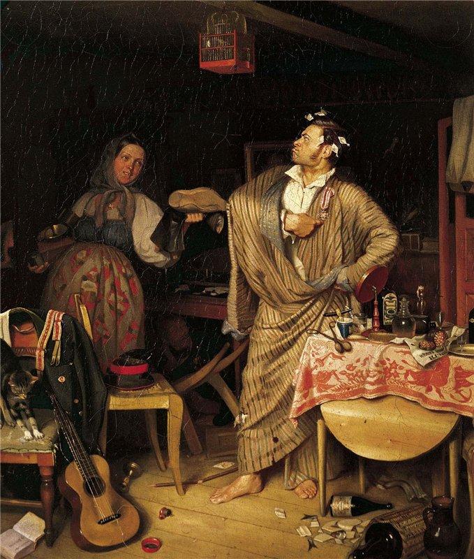 "Павел Федотов. ""Свежий кавалер"". 1846 г."
