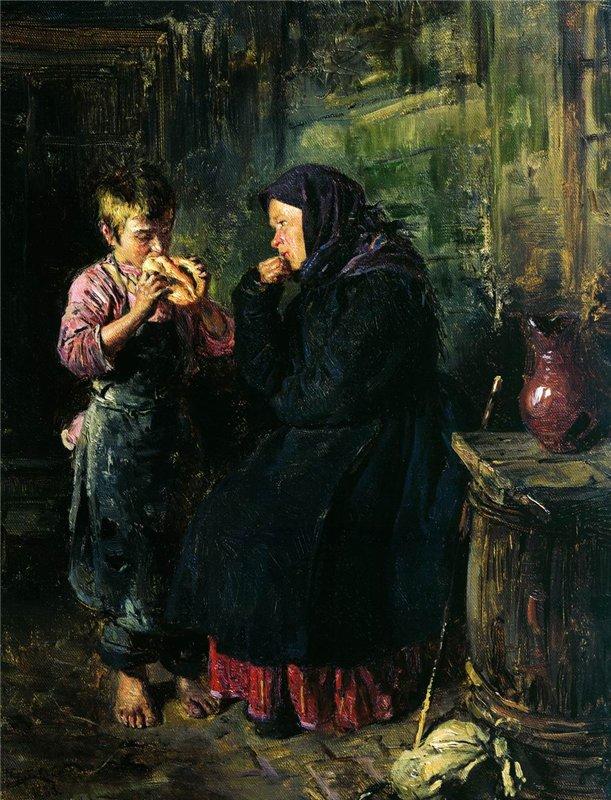"""Владимир Маковский. """"Свидание"""". 1883 г"""