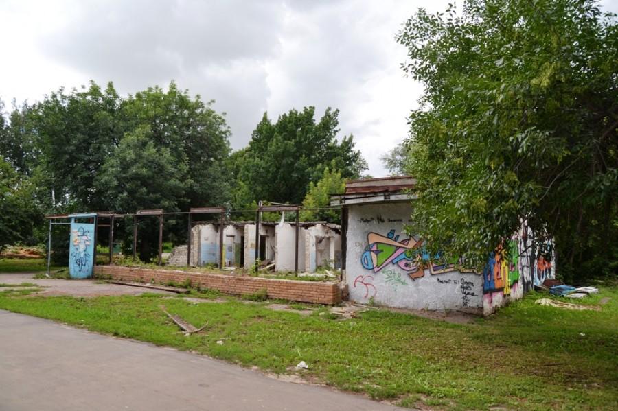 Уничтожение зеленых зон в Тамбове продолжается