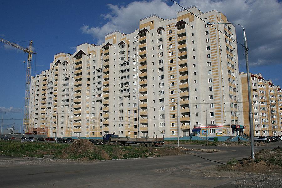 Многоэтажки в Московском микр-не