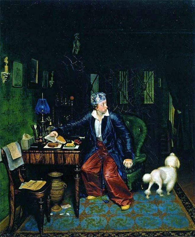"""""""Завтрак аристократа"""".1849-1850."""