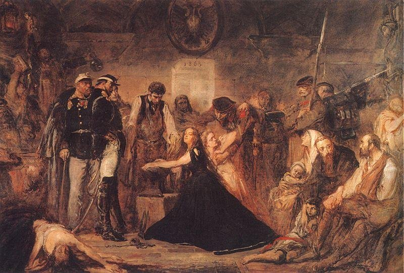 """""""Закованная Польша"""". 1863 г."""