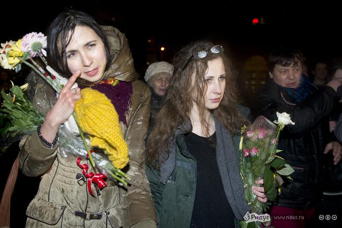 Участница панк-группы Pussy Riot Мария Алехина. © Антон Тушин/Ridus.ru