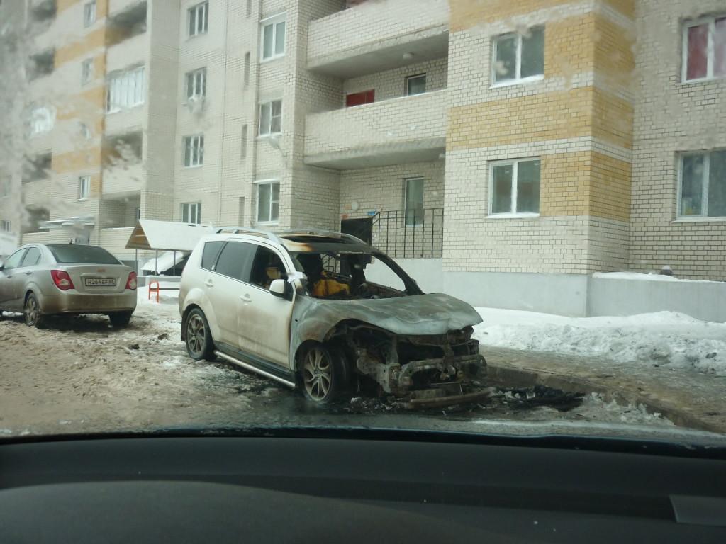 Поджег авто на Ореховой