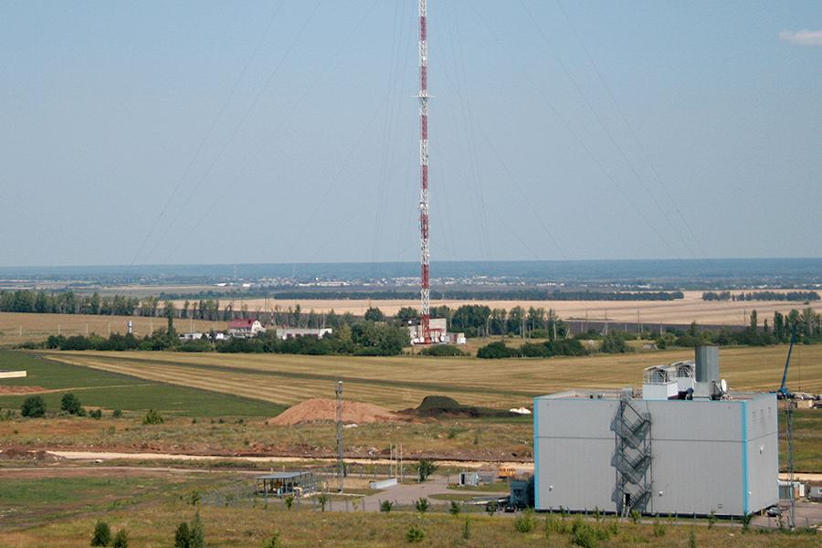 Северная часть Тамбова, район телевышки