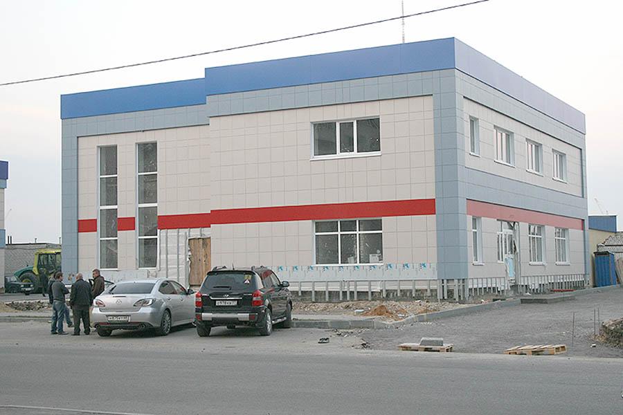 Торгово-офисный центр на Северо-Западной