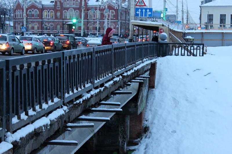 Державинский мост. Фото Марины Климковой