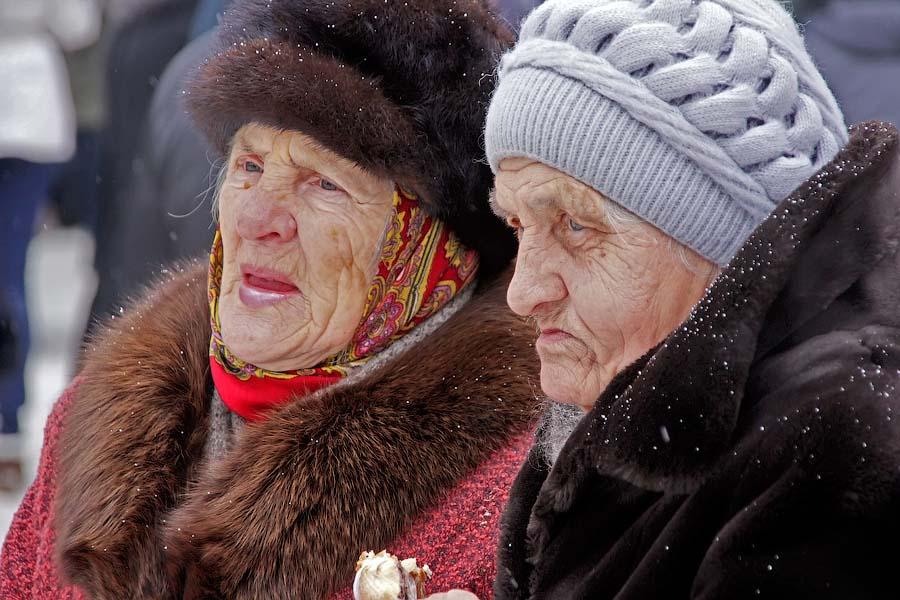 Старики. Фото М. Карасева