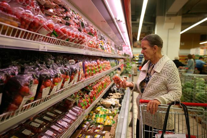 Супермаркеты. Фото РИА Новости.
