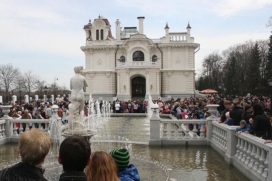 Праздник открытия фонтанов в Тамбове