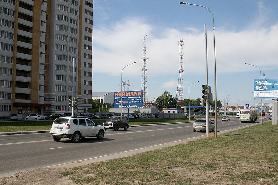 Светофор на Мичуринской
