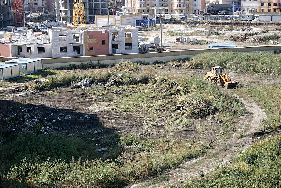 Площадка под строительство детского садика в Уютном