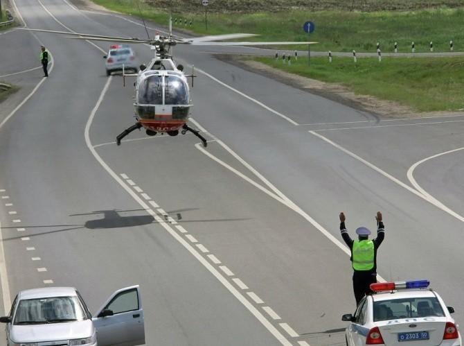 Ситуация на автотрассе