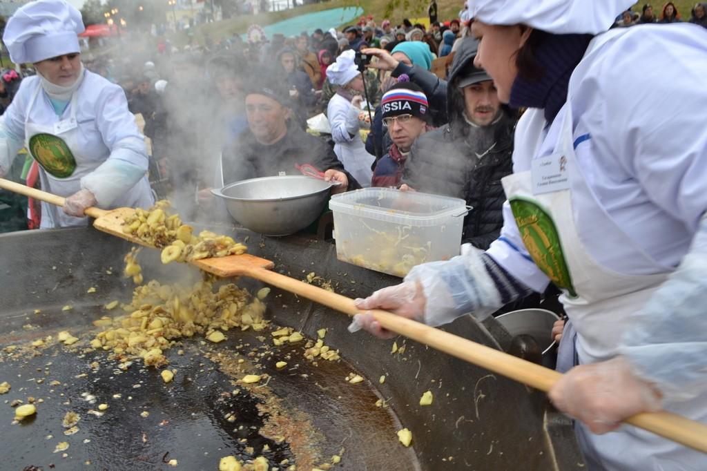 Фестиваль тамбовской картошки. Фото ОнлайнТамбов.ру