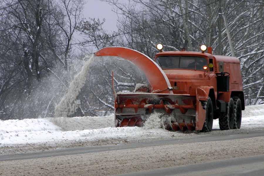 Уборка снега в Тамбове