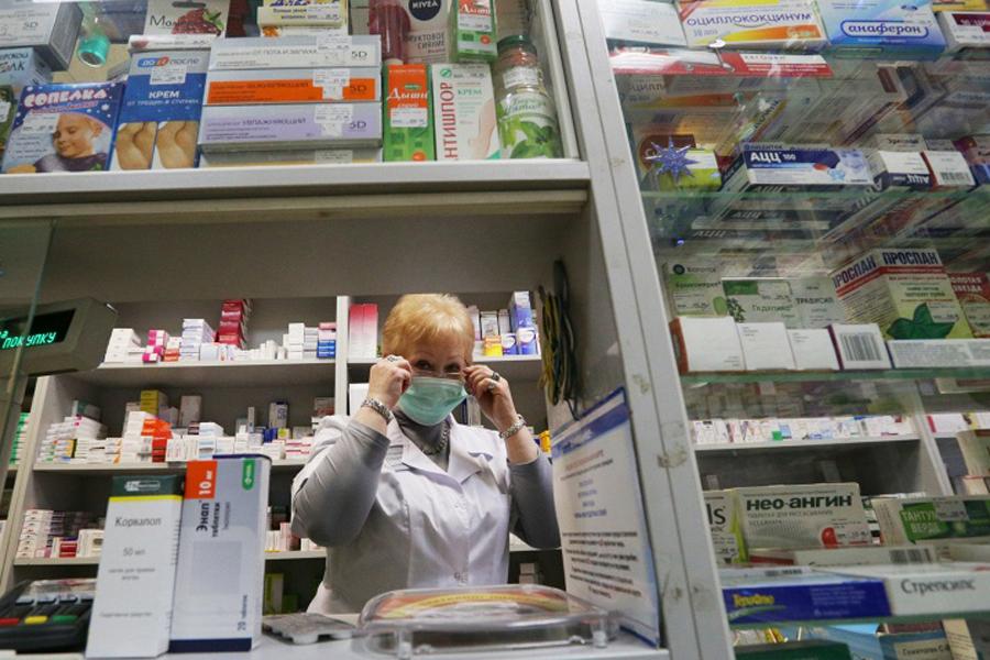 Аптека, фото ТАСС.