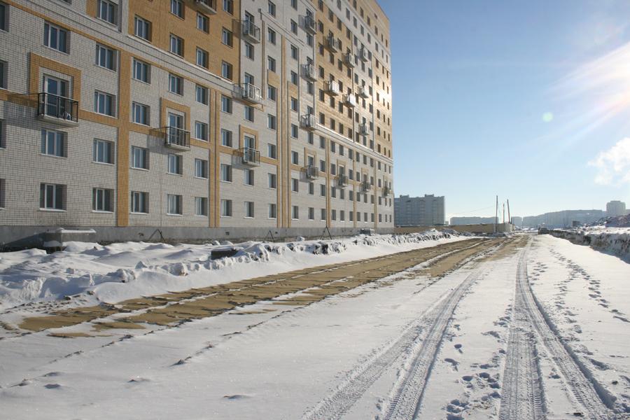 Микрорайон Телецентр, проезд Школьный-1