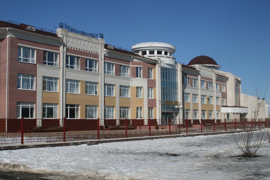 Радужное, школа