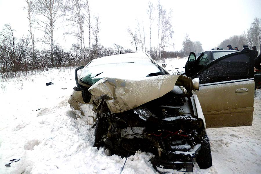 19 января. ДТП на 39-м километре автодороги «Тамбов-Шацк»