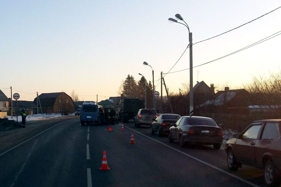 9 февраля, 7:25. ДТП на 16-м километре автодороги «Тамбов-Пенза».