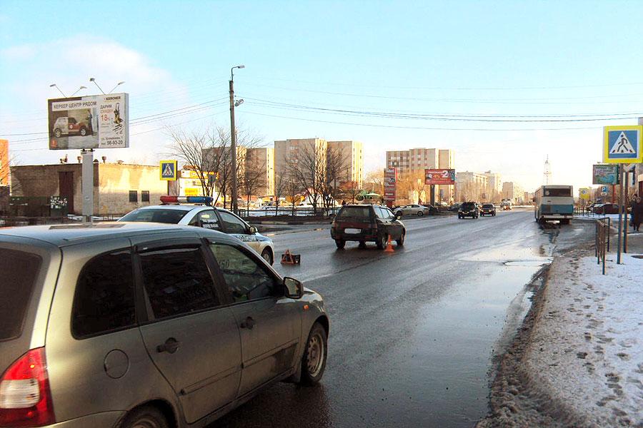 28 февраля 2016, 14:36. ДТП в Тамбове на улице Рылеева в районе дома 96