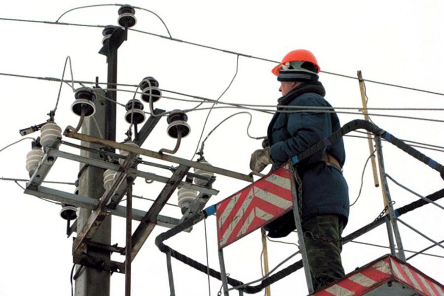 Ремонтные работы на электросетях