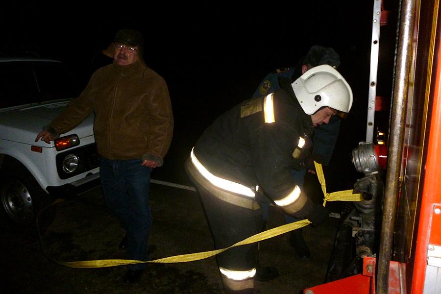 Спасатели МЧС России по Тамбовской области приняли участие в оказание помощи замерзающему автомобилисту