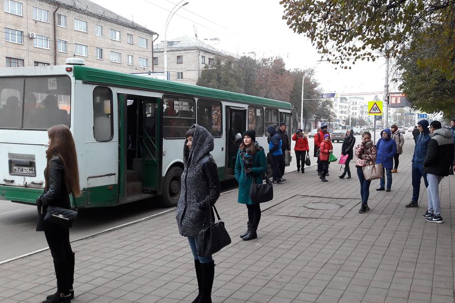 Остановка общетсвенного транспорта