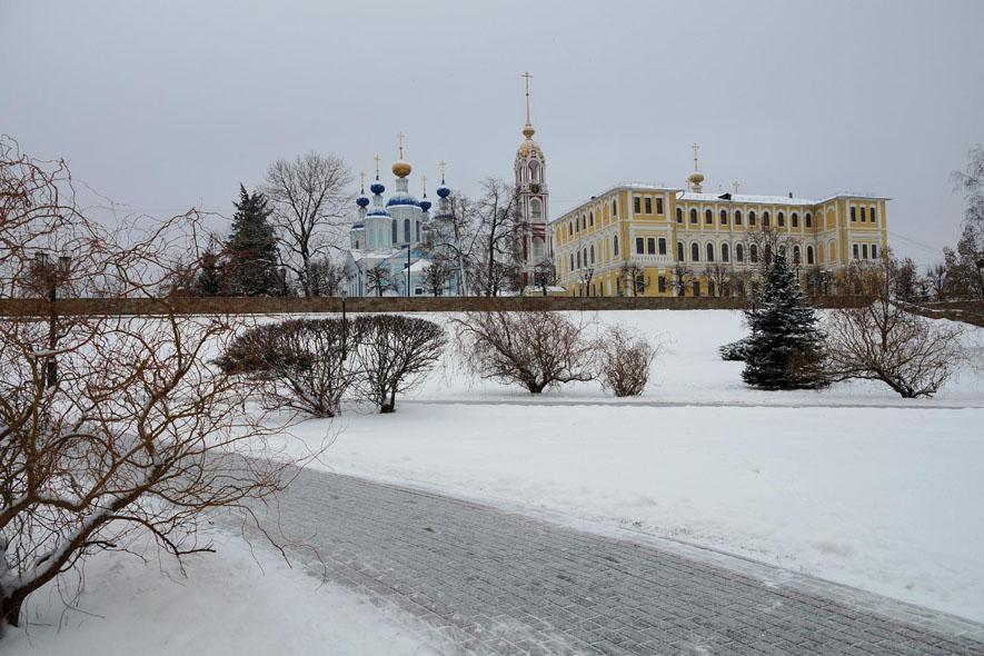 Зима в Тамбове