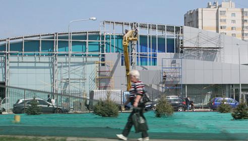 Новый Ледовый дворец в Тамбове на Мичуринской