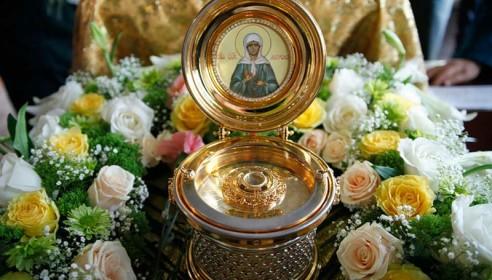 Мощи Святой Матроны прибудут в Тамбов