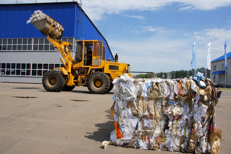 За четыре месяца тамбовчане произвели 50 вагонов мусора